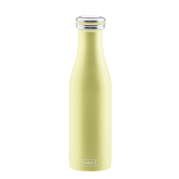 Lurch Isolier-Flasche Edelstahl 0,5l pearl yellow