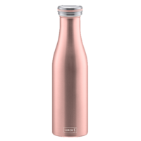 Lurch Isolier-Flasche Edelstahl 0,5l rosegold