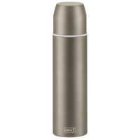 Lurch Isolier-Flasche mit Becher EDS 0,75l earth grey
