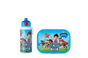 Mepal Pausenset Campus (Trinkflasche Pop-up und Brotdose) - Paw Patrol